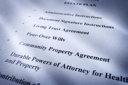 Wills, Trusts & Estate Plans